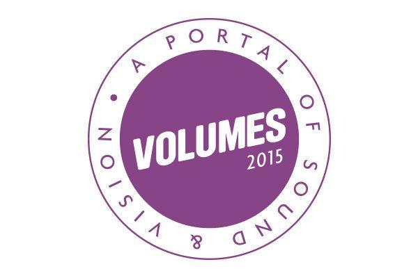 The logo design for VOLUMES 2015 Music Festival, Sydney.