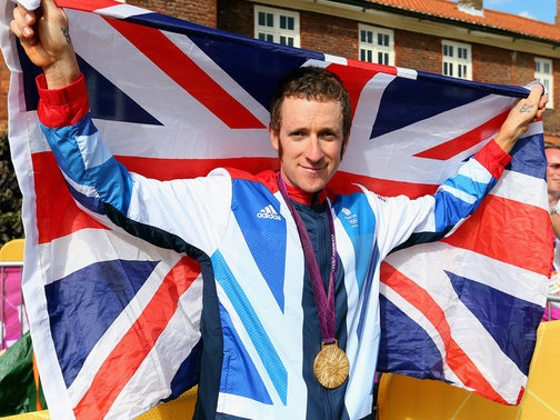 I would be such a poser if I said I followed the Tour de France this year, but I must admit, most decorated British Olympian and cycling champ Bradley Wiggins is one cute cookie.