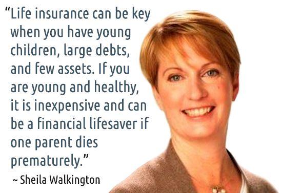 ~ Sheila Walkington #quotes #insurance