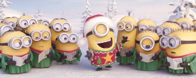 Quand les Minions massacrent des chants de Noël - News films Vu sur le web - AlloCiné