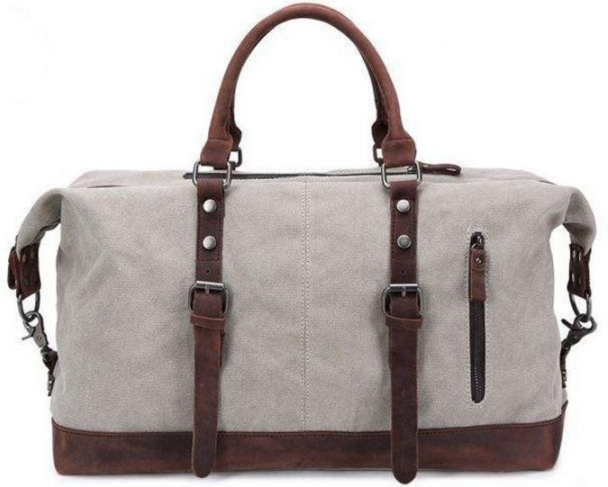 Canvas Tote Travel Bag