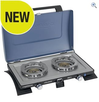 Campingaz Xcelerate™ 400S Double Burner Stove | GO Outdoors