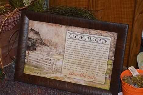 Close The Gate Farmer Memorial Poems Farmers Iowa