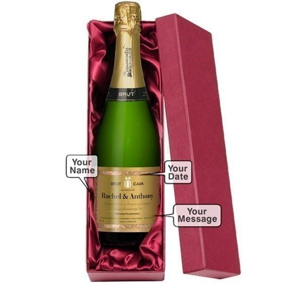 Personalised Bottle Cava   The Personalised Gift Shop