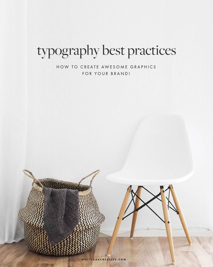 Typography tips for creating shareworthy, pinterest-friendly blog post graphics and brand identity strategy to grow your brand.