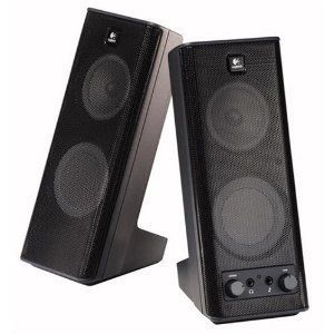 Even a cheap pair of PC speakers can make a huge difference in the quality of your TV audio.