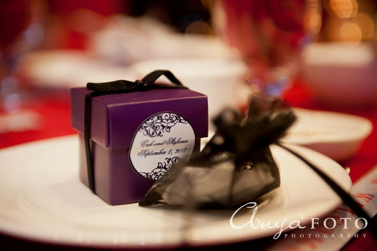 Wedding Favors anyafoto.com #wedding #weddingcakes, wedding favor ideas, wedding favor desings, purple wedding favors, purple wedding favor box