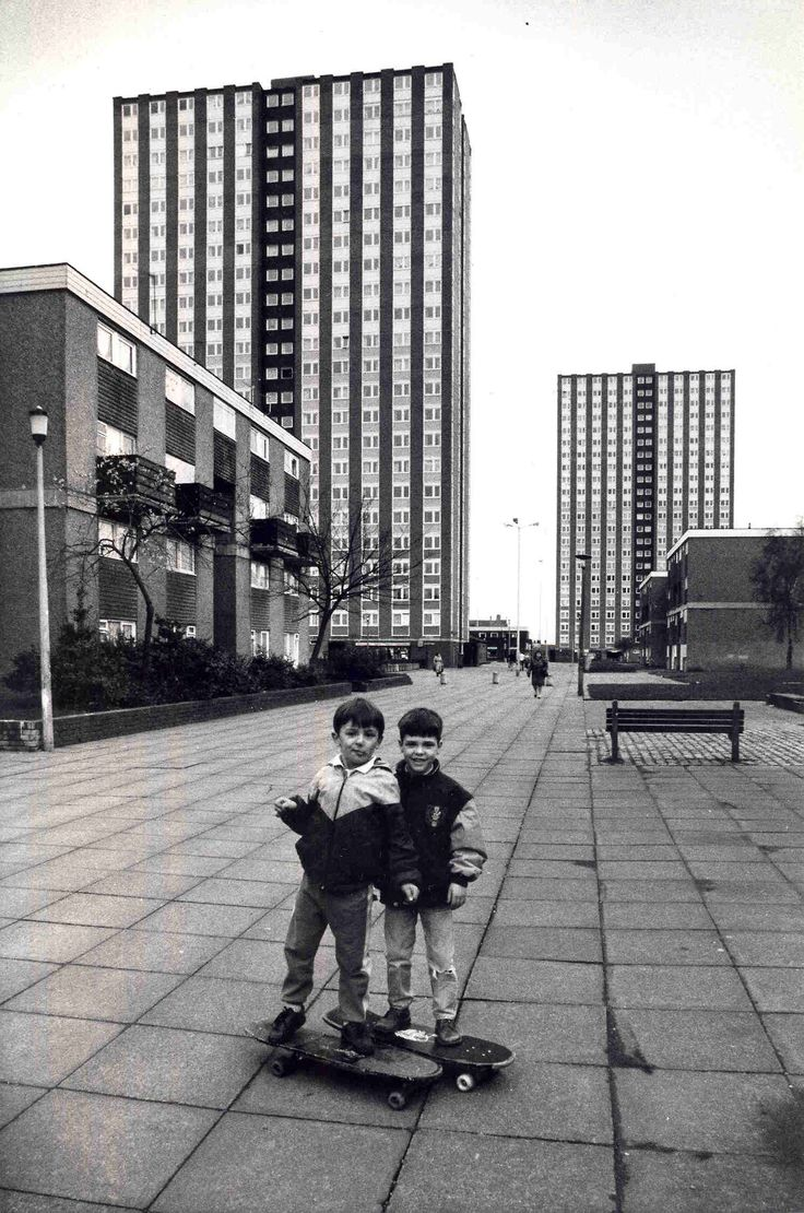 foryoureyeslonely:  SALFORD - LANCS 1989
