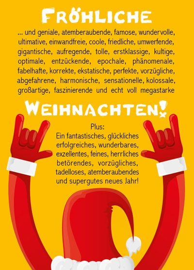 Weihachtskarte - Fröhliche Weihnachten (Cool Crafts Diy)