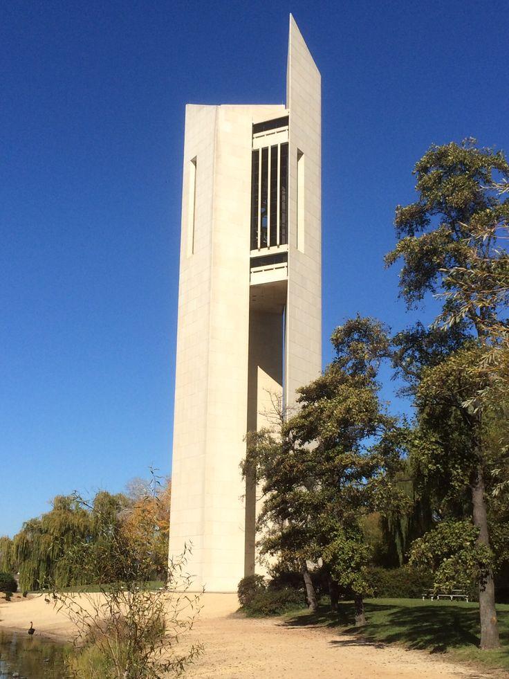 National Carillon, Aspen island, Lake Burley Griffin, Canberra #carillon tower