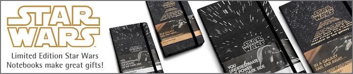Star Wars Moleskine Journals, Notebooks