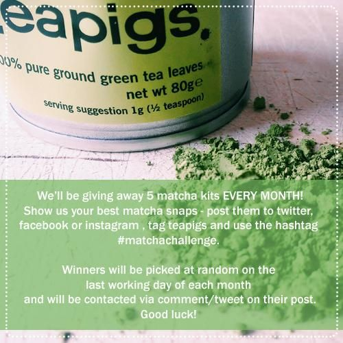 We are kicking off #matchamay with an awesome giveaway! enter now for your chance to win matcha!