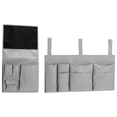 Ultimate Bedside Storage Set, BOM, Grey Solid