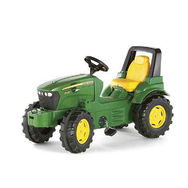 Rolly Toys John Deere 7930 tractor  Rij door de tuin of over het erf met deze gave John Deere-tractor van Rolly Toys. Deze stevige tractor is geel en groen van kleur.  EUR 164.99  Meer informatie
