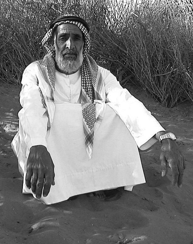 Bedoin man UAE