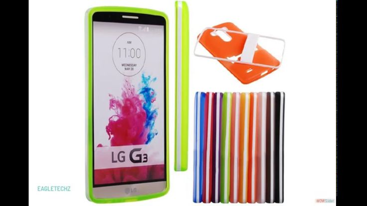 Capa LG G3 Translúcida colorida