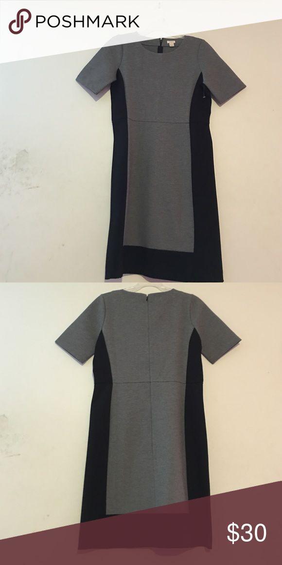 1 DAY SALE J. Crew dress size 6 Gorgeous dress, great fit, 66% viscose,30% nylon,4% spandex J. Crew Dresses