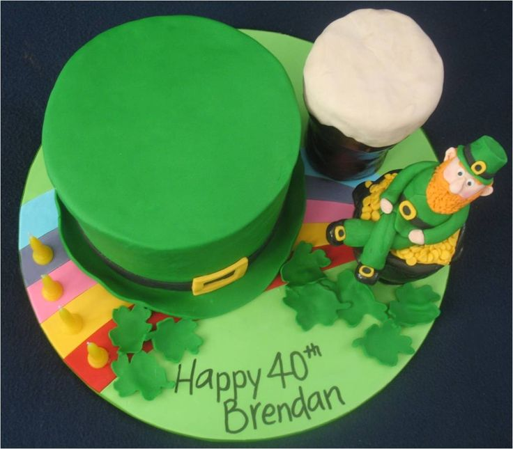 Ireland themed birthday cakes blissfully sweet an irish