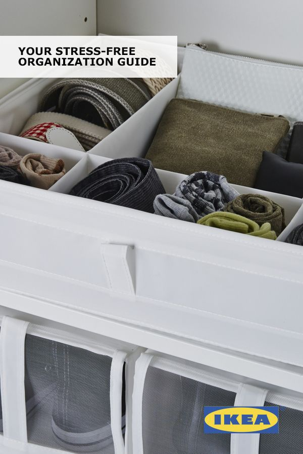 Get organized with Your Stress-Free Organization Guide! Find IKEA organizational tips and budget-friendly solutions to help you create refreshed spaces you'll truly want to spend time in.