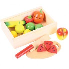 Toy cutting fruit