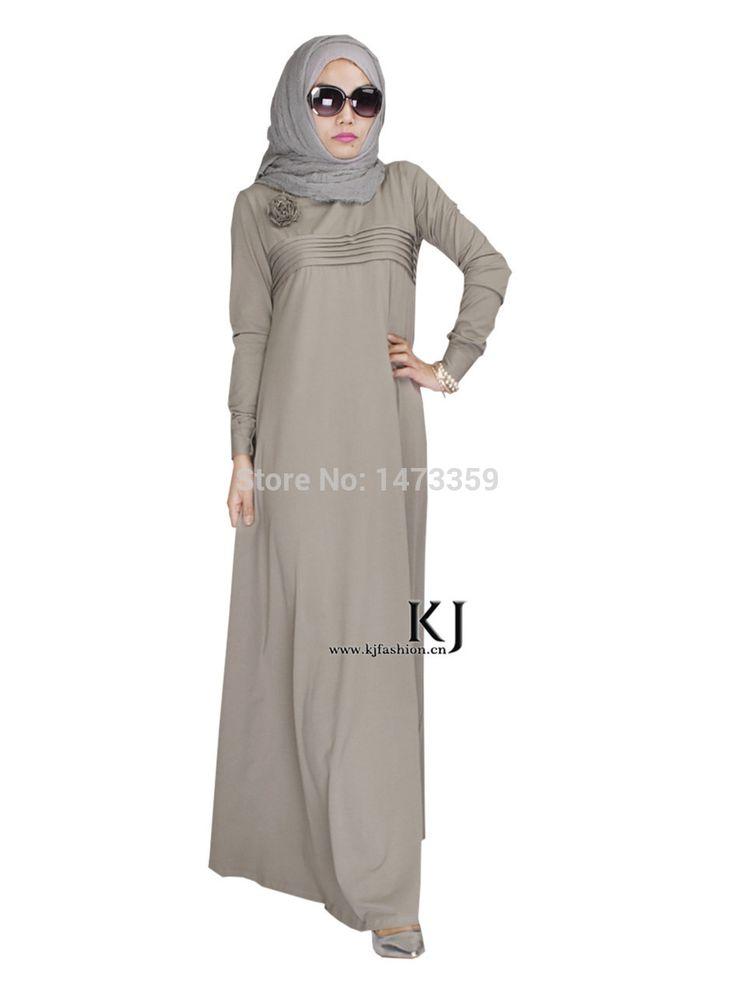 Cheap abaya fabric, Buy Quality abaya collection directly from China dress european Suppliers:  2015 casual abaya muslim girl fashion cotton dress turkish women clothing burqa robe plus size custom-made dub