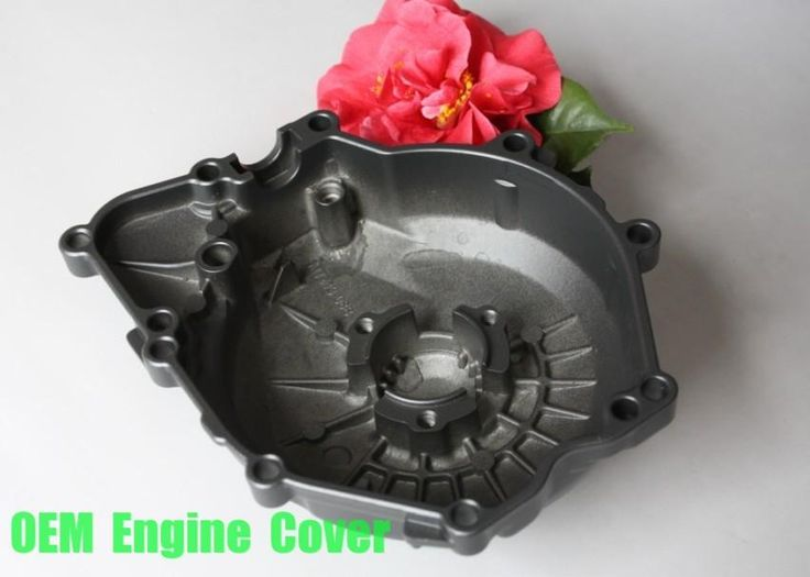 Free shipping motorcycle parts OEM Engine Stator cover for YamahaYZF R6 2006 2007 2008 2009 BLACK Left side