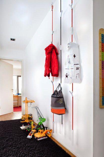 5 Percheros originales para decorar tu hogar   -   5 Original coat hangers to decorate your home