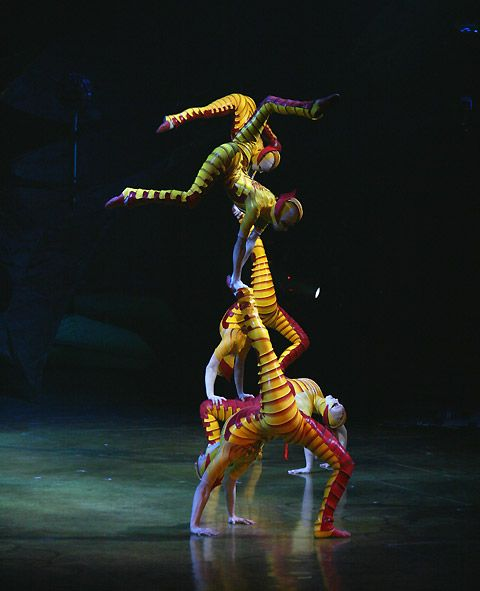 Cirque du Soleil...truely one of my favorite Co.