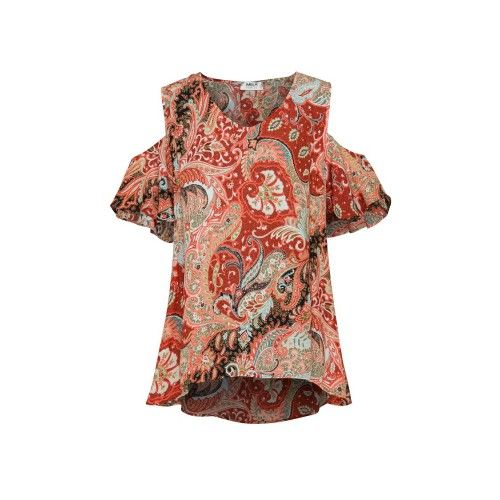 Mela Purdie Calypso T Kimono Print - Mousseline