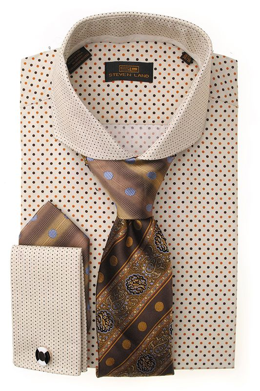 Dress shirts ds1246 brn men 39 s ties more pinterest for Dress shirts and tie combos sale