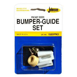 Johnson Pocket Door Replacement Guide And Bumper Set