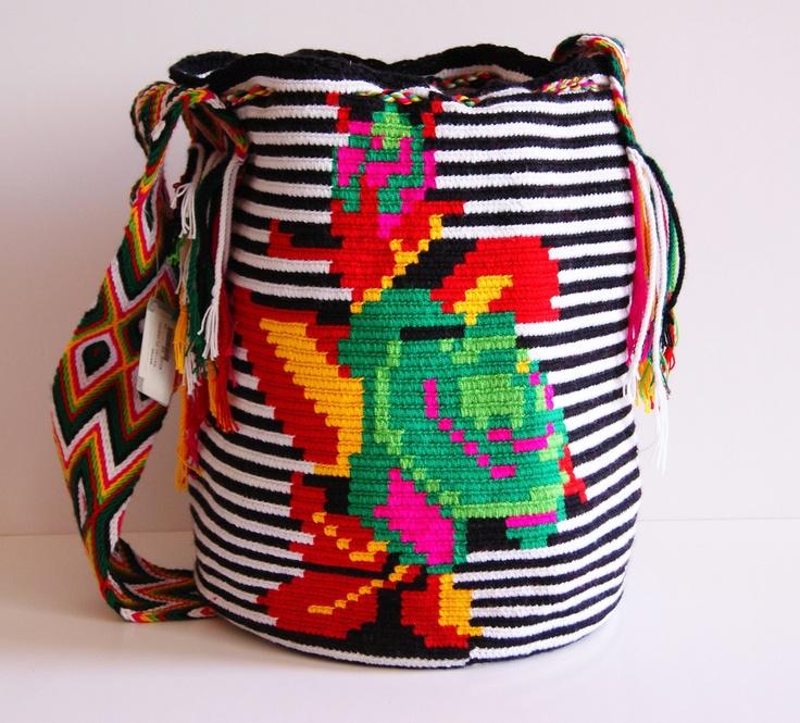 Wayuu Flower with Reata - Wayuu Specialty - Wayuu Bags