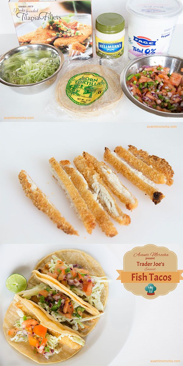 Trader Joe's Fish Tacos / Super easy