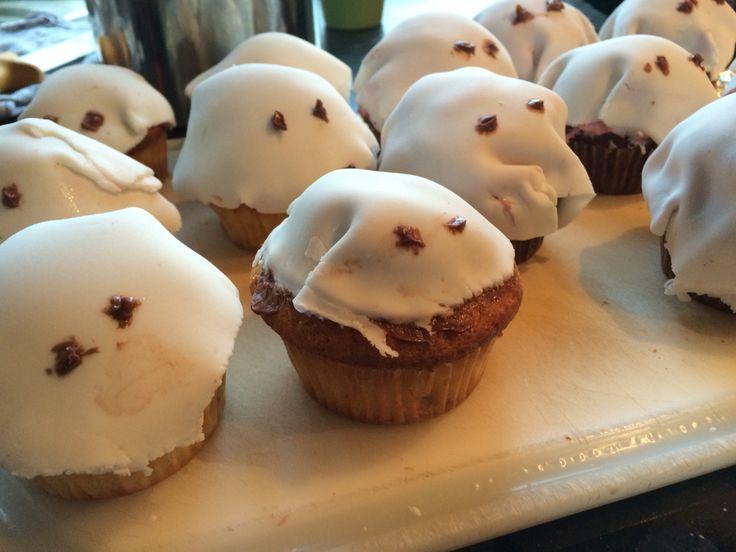 Spøgelses muffins
