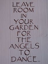 This would be cute to put on a garden stone!!! :)