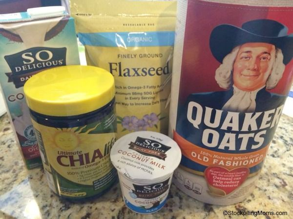 Overnight No Cook Refrigerator Oatmeal Recipe