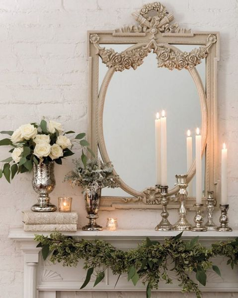 Bring winter into the warm indoors with our ideas for surrounding yourself with the peaceful presence of white. Visit our site for more beautiful décor.