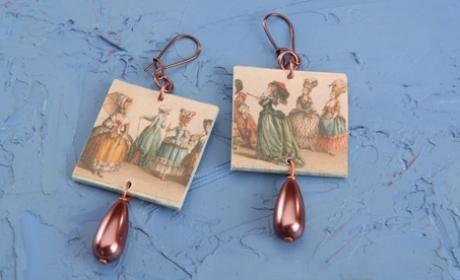 Earrings - Ladies in line