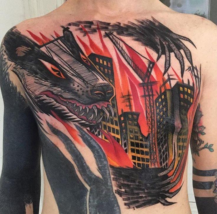 Tayri Rodriguez badger tattoo