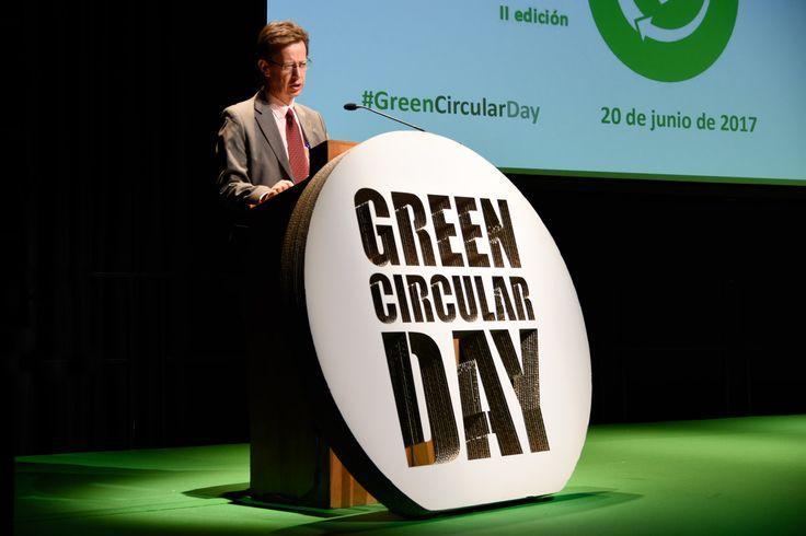 El mayor evento sobre economía circular promovido por Ecoembes y Fundación Biodiversidad. Michael Braungart. Cradle to Cradle.Green Circular Day.