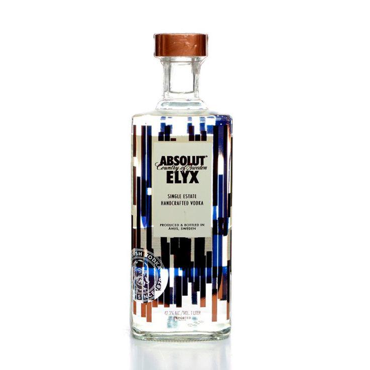 Vodka Absolut Elyx 1L - Super Adega