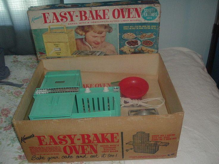 Original Vintage Kenner Easy Bake Oven w/Box,Insert,Accessories.Works.Adult Col. #Kenner