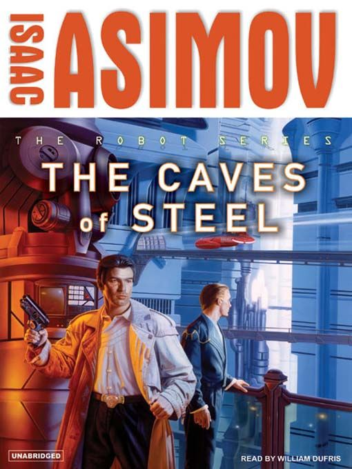 Science Fiction Book 'The Caves Of Steel' By Isaac Asimov (Fresh Look)