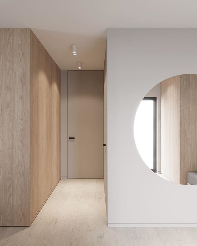 Entrance zone in Nlights project for @sofiebrovold . My collaboration with @evgeniibulatnikov #emildervish #interiordesign #leibal #dezeen #architecture