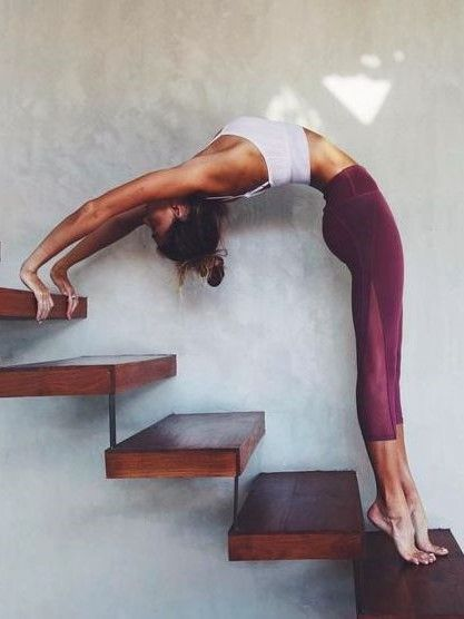 Yoga soothes the soul and sharpens the mind. Follow me or visit www.spasterfield… – Girlpower