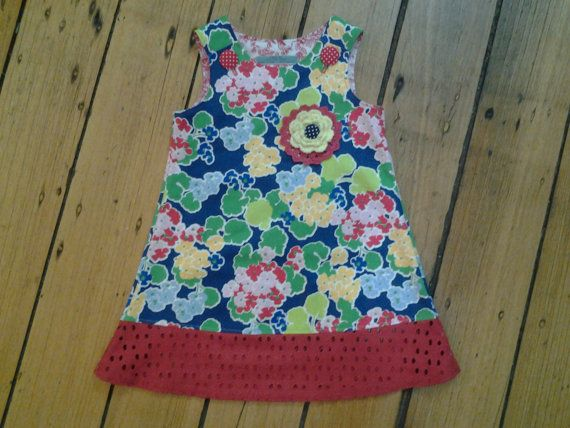 Hey, I found this really awesome Etsy listing at https://www.etsy.com/au/listing/231866246/size-3-spring-flower-pinafore