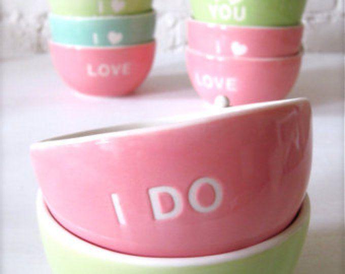 I DO Angel Pink Bowl