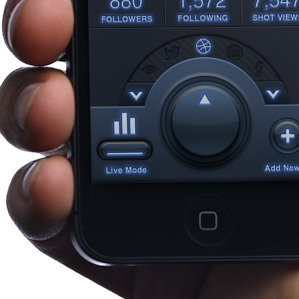 Tracker App - Mobile UI Design - by Tobia Crivellari, via Behance