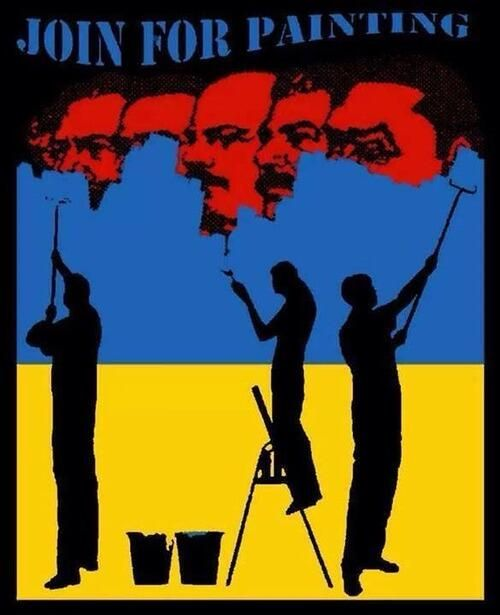 """""""Join for painting.""""  Ukrainian freedom!"""