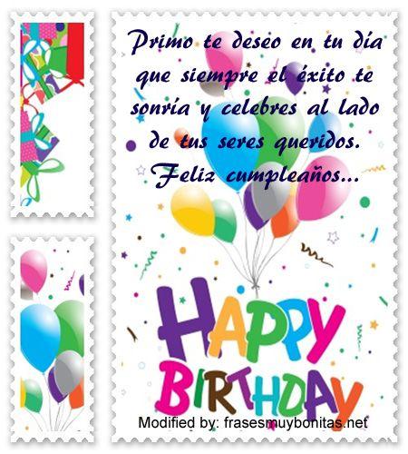 Bellas Frases Para Celebrar El Cumpleaños De Tu Primo Con